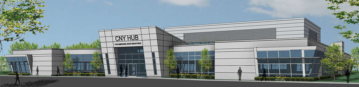 A early rendering of SUNY Poly's Film Hub, which opened in 2015.