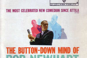 """The Button-Down Mind of Bob Newhart,"" a landmark comedy album recorded in Houston."