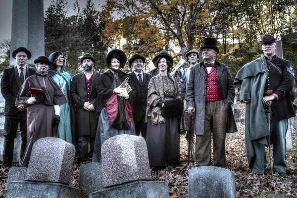 Winsted's annual cemetery tours will be held Oct 21 at Forest View Cemetery, with costumed actors sharing tales of Winsted's past.