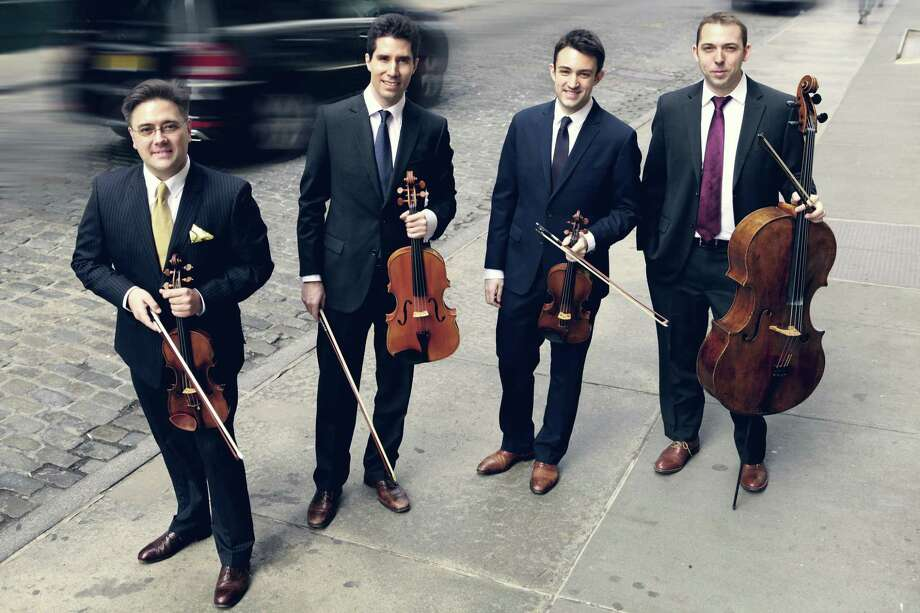 The Escher String Quartet will  perform for Sundays Live at Five concert series in Washington on Sunday, Oct. 15. Photo: Photo By Sophie Zhai / Not For Resale
