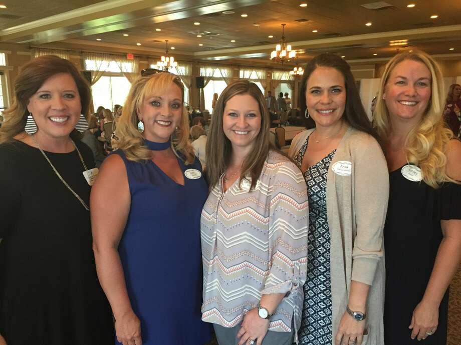 Junior League: Candice Kendrick, from left, April Marshall, Samantha Smith, Anita Gamertsfelder and Ashley Boren Photo: Courtesy Photo
