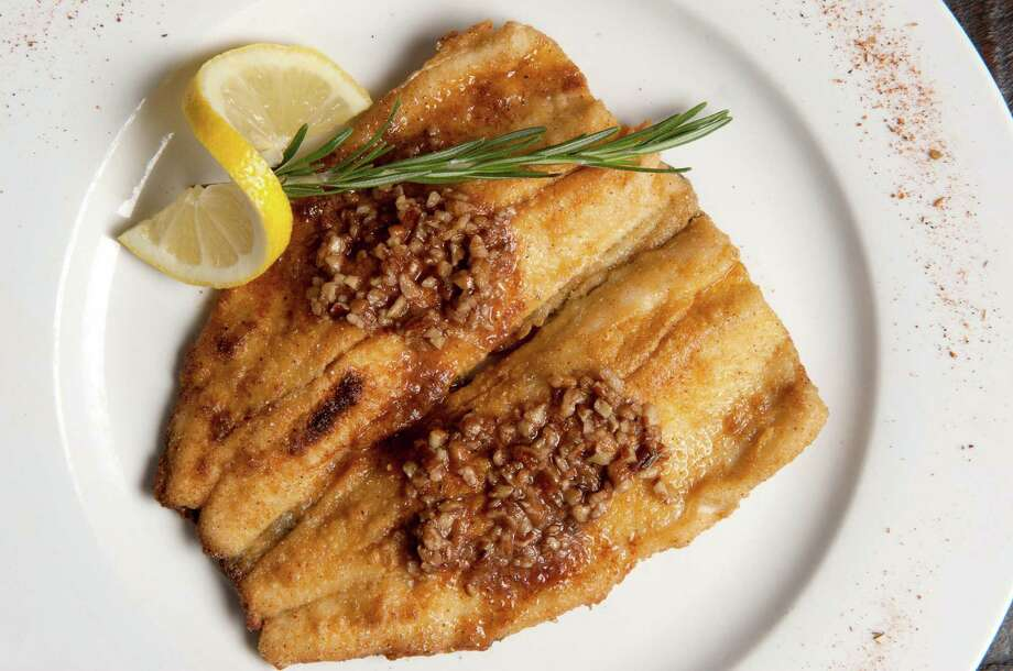 Pan Fried Trout with Pecan Butter. Photo: VW Pics, Contributor / UIG Via Getty Images / This content is subject to copyright.