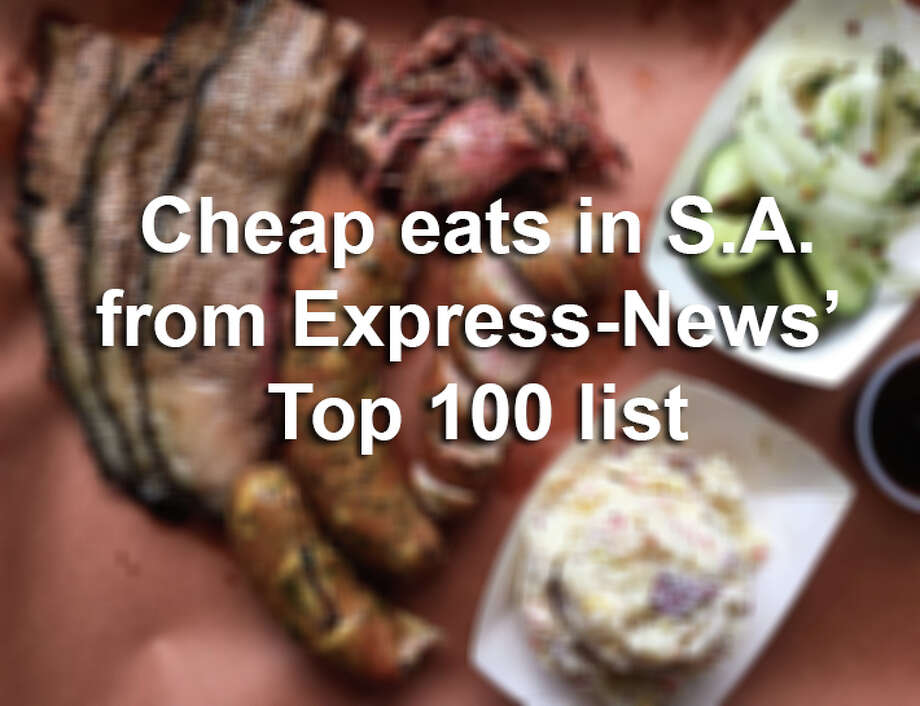 Click ahead to find out which restaurants in San Antonio offer the most flavor for the least amount of money. Restaurants listed were given a dollar-sign rating: $ — under $15; and $$ — $16-$30. Photo: Mike Sutter/San Antonio Express-News