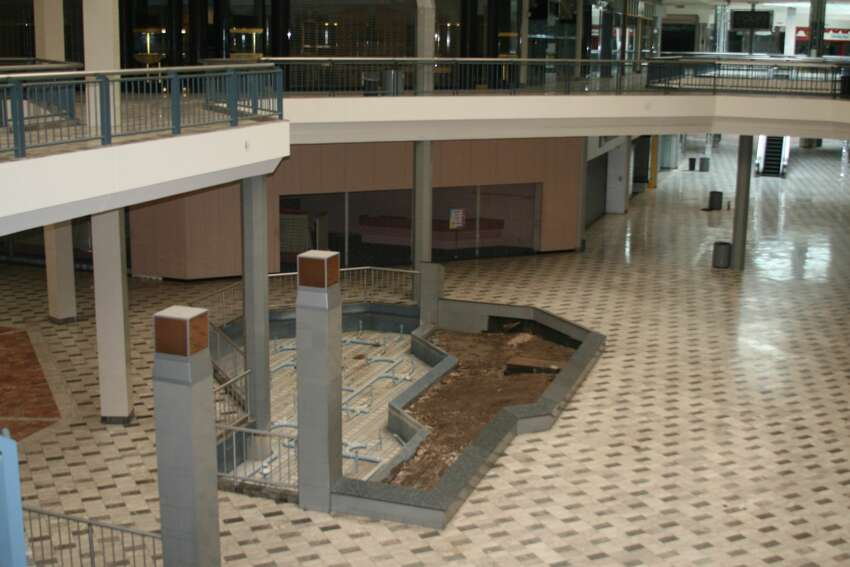 BEFORE: Windsor Park Mall opened in the late 1970s with major retailers like Dillard's anchoring the shops.
