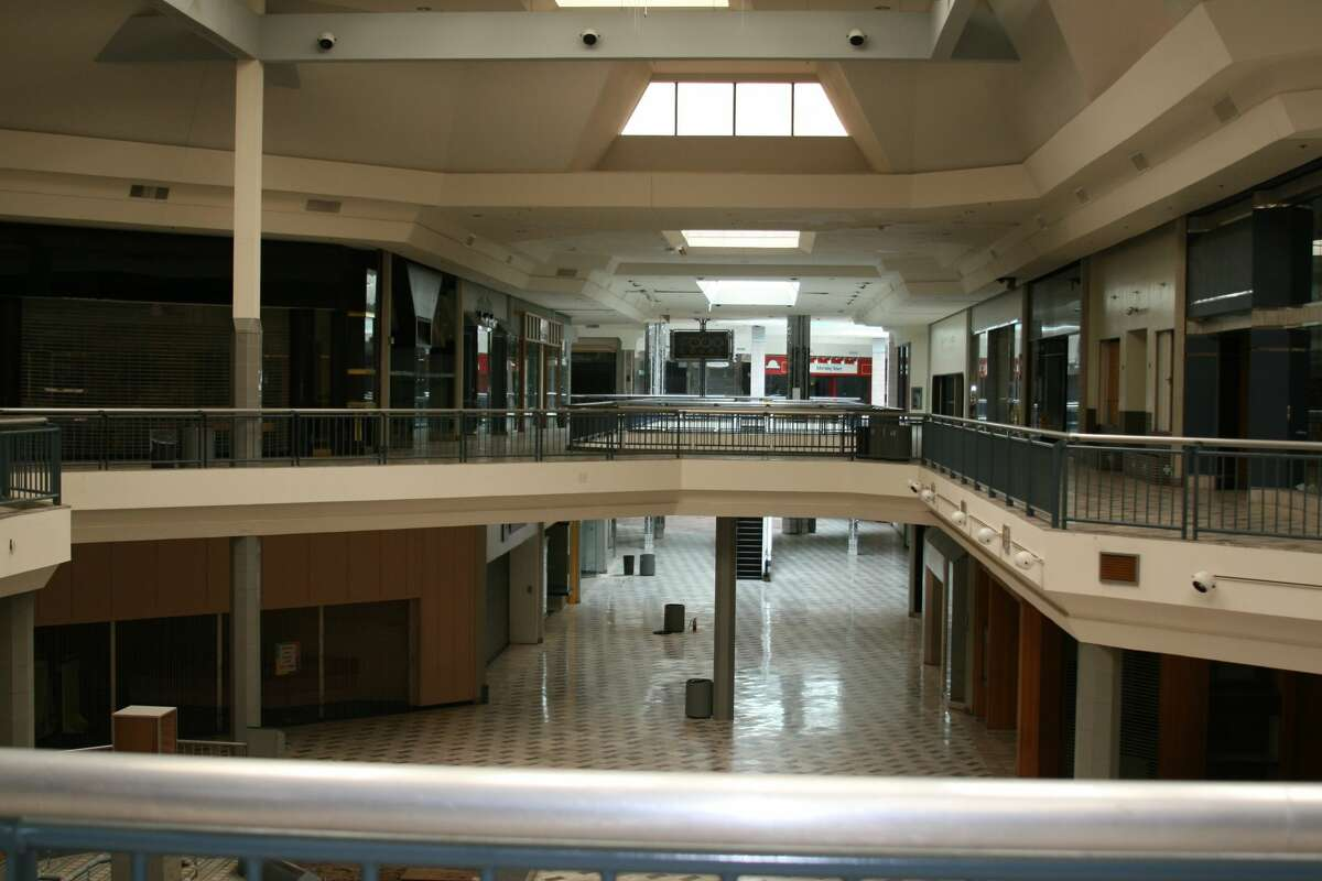BEFORE: Before Rackspace took over the space about a decade ago, it was an empty mall.