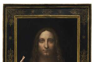 """Leonardo da Vinci's """"Salvator Mundi"""" (ca. 1500), one of fewer than 20 known paintings by the Renaissance master, will be on view in San Francisco for three days."""