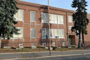 Hallen School, 68 Omega Ave. in Bridgeport, Conn. Jan. 20. 2014.