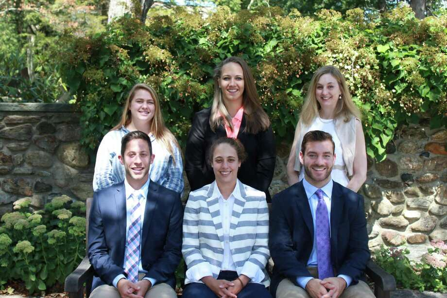 The Gunnery in Washington has welcomed new faculty for the 2017-18 school year. They include, in front, from left to right, Austin Arkin, Jamie Goldsmith and Rob Harbison, and in back, Andrea Nicholason, Cassandra Ruscz and Jennifer Clement. Missing are Misa Giroux and Teresita Magana. Photo: Courtesy Of The Gunnery / The News-Times Contributed