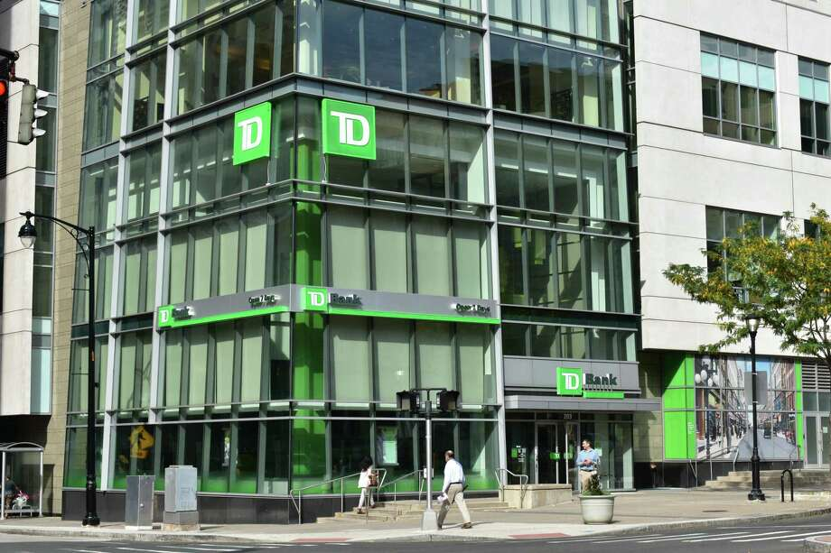 A TD Bank branch in downtown Hartford, Conn., on Oct. 11, 2017. In the 2017 fiscal year ending Sept. 30, TD Bank issued 83 loans guaranteed under the 7(a) program of the Small Business Administration, the most of any bank in Connecticut. Photo: Alexander Soule / Hearst Connecticut Media / Stamford Advocate