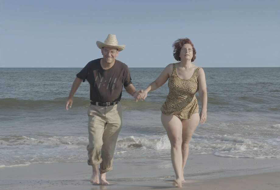 "Scott Levin and Dina Buno visit the beach in ""Dina."" Photo: The Orchard"