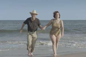 """Scott Levin and Dina Buno in the documentary """"Dina"""""""