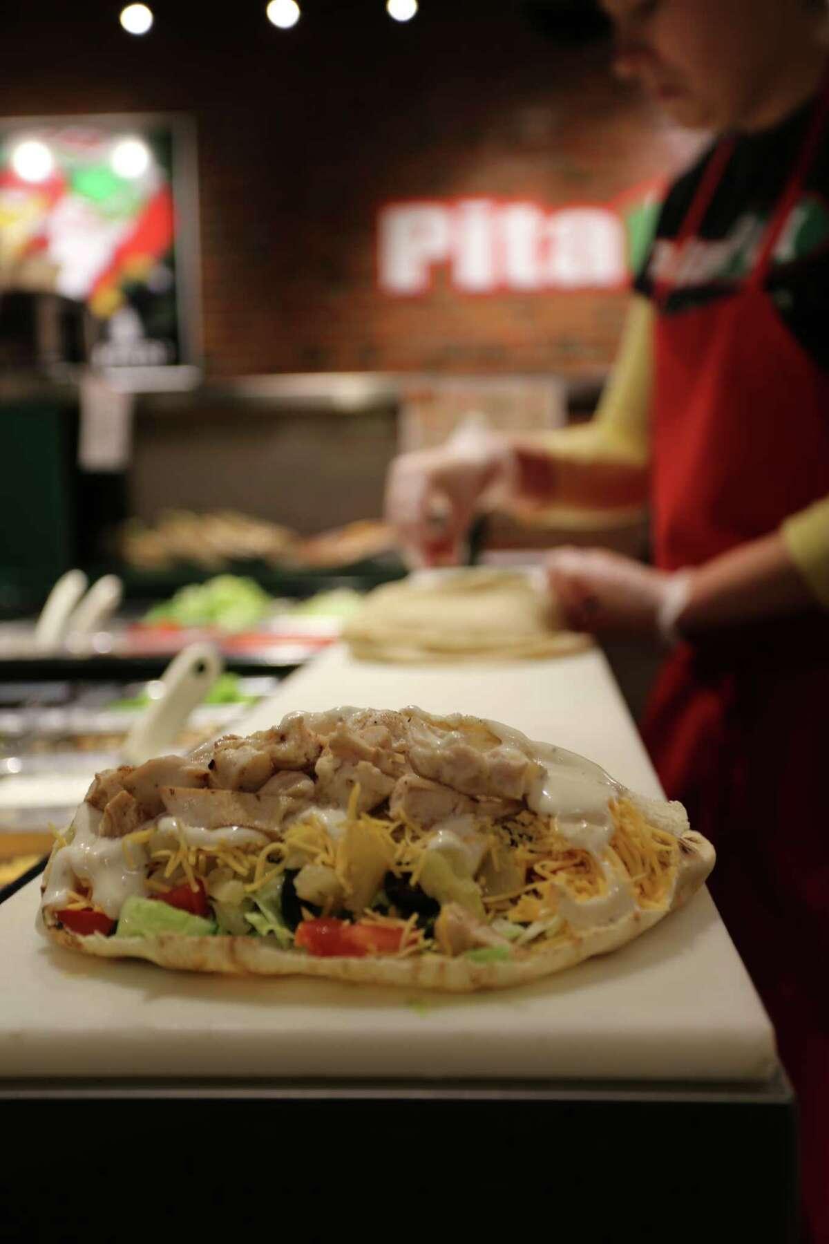 A new Pita Pit fast food restaurant will open Oct. 13 at 19111 Katy Freeway.