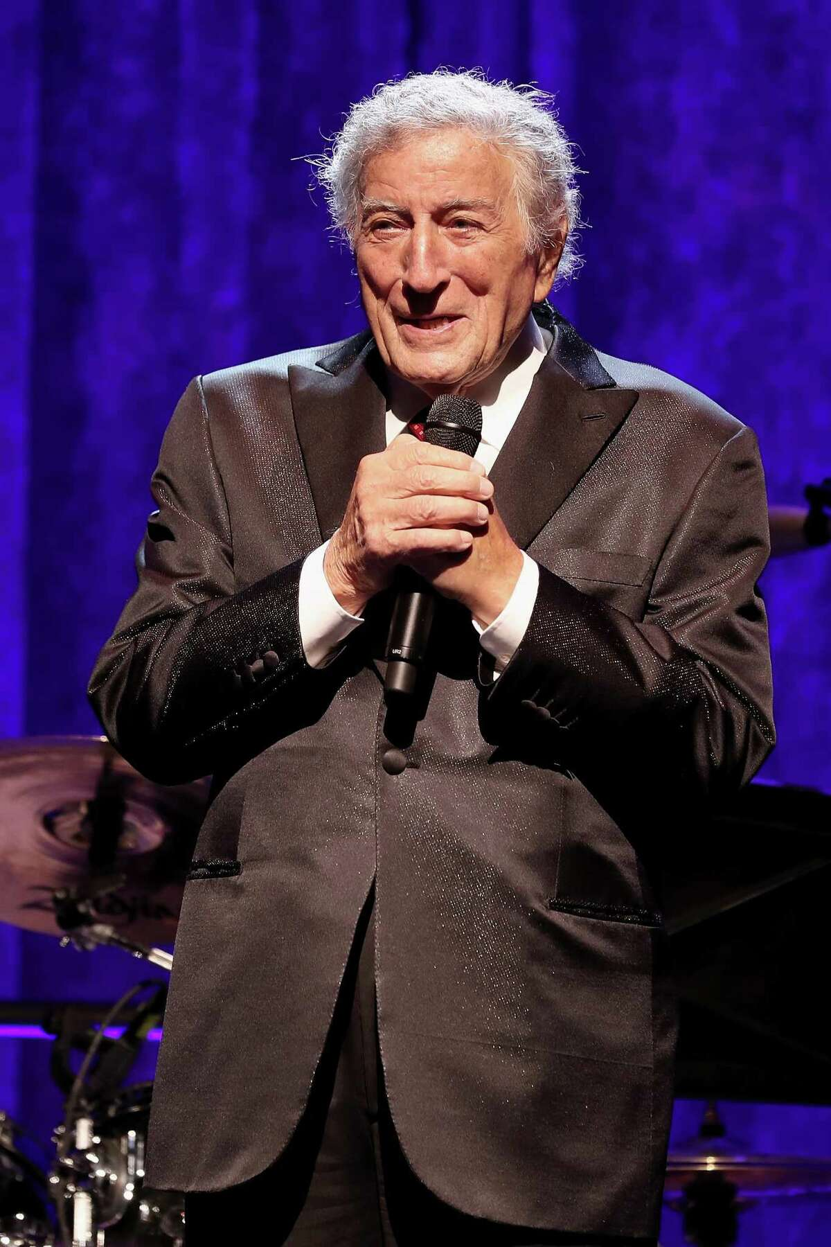 Tony Bennett speaks onstage at the American Theatre Wing Centennial Gala at Cipriani 42nd Street on September 18. Bennett will headline the Multiple Myeloma Research Foundation's annual fall gala in Greenwich on Oct. 28.