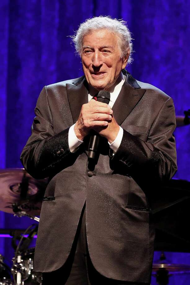 Tony Bennett speaks onstage at the American Theatre Wing Centennial Gala at Cipriani 42nd Street on September 18. Bennett will headline the Multiple Myeloma Research Foundation's annual fall gala in Greenwich on Oct. 28. Photo: Jemal Countess / Getty Images For American Theatr / 2017 Getty Images