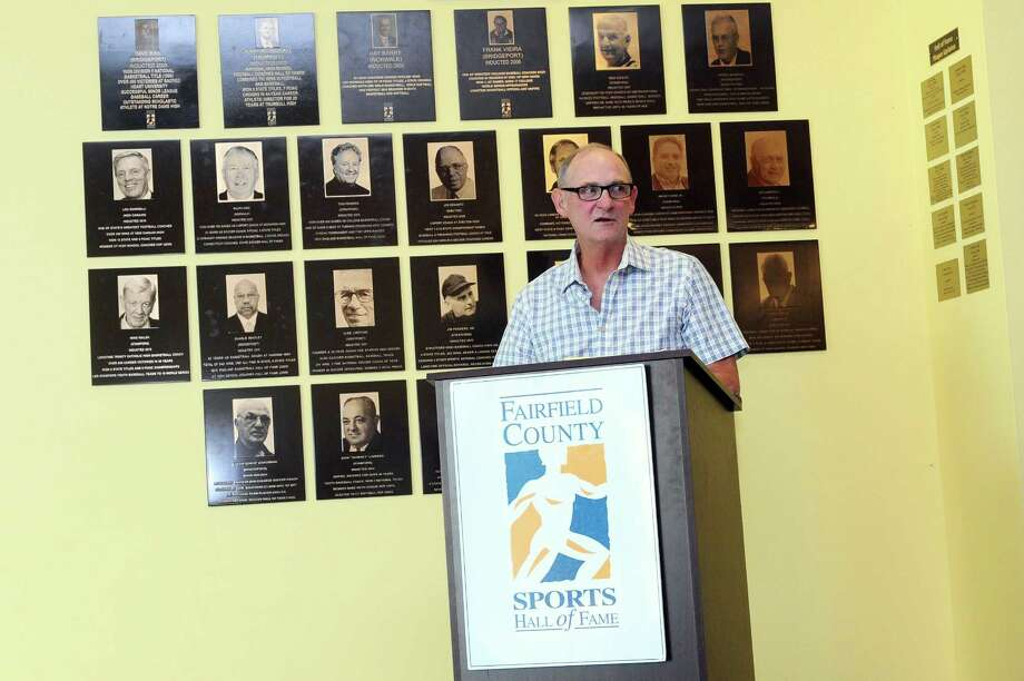 Former Barlow boys soccer coach Jim Dolan is one of six new Fairfield County Sports Commission Hall of Fame members to be honored Monday at the Stamford Marriott. Photo: Michael Cummo / Hearst Connecticut Media / Stamford Advocate