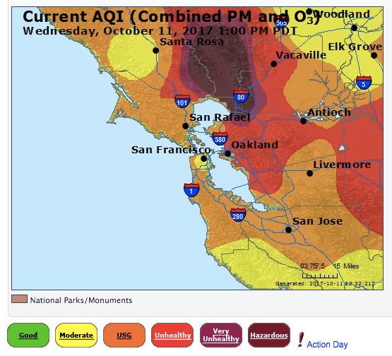 Sf Chronicle Classifieds: Air Quality Around San Francisco Bay Area Expected To
