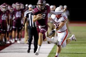 Magnolia receiver-turned-quarterback Reese Mason had another monster night at Tomball's expense last week.