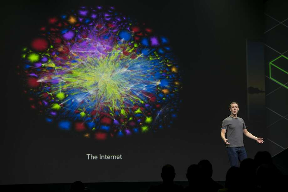 Mark Zuckerberg, chief executive officer and founder of Facebook Inc., speaks during the Oculus Connect 4 product launch event in San Jose, California, U.S., on Wednesday, Oct. 11, 2017. Facebook unveiled a cheaper virtual-reality headset that works without being tethered to a computer, rounding out its plan for pushing the emerging technology to the masses. Photographer: David Paul Morris/Bloomberg Photo: David Paul Morris, Bloomberg