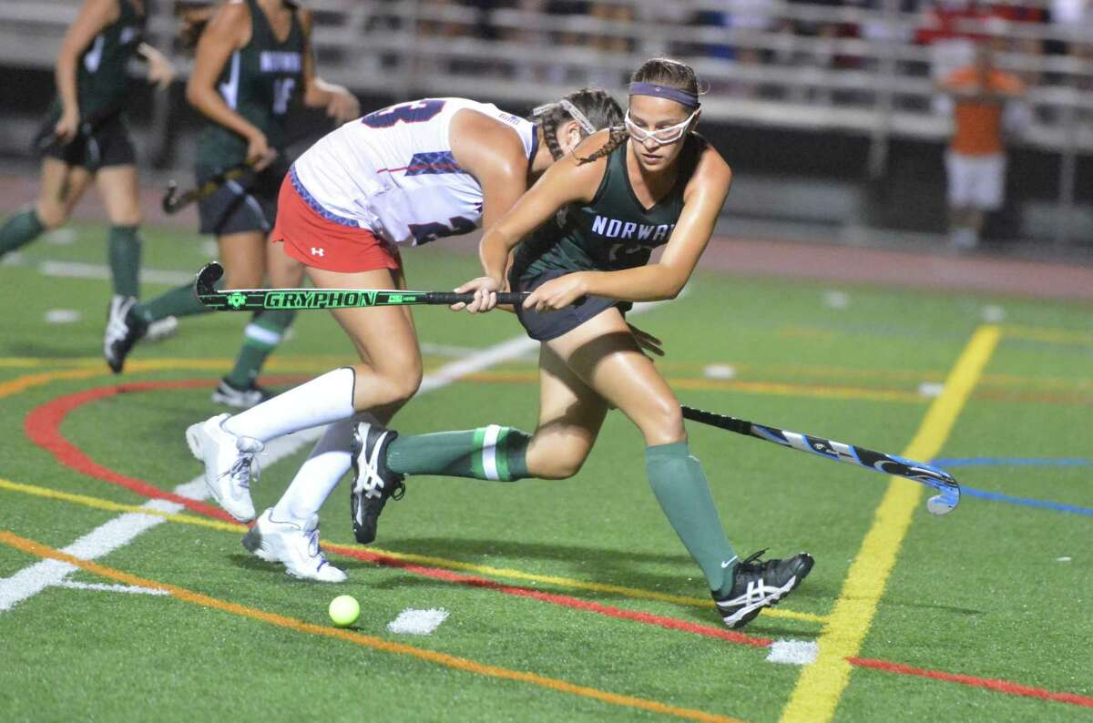 Norwalk field hockey In their only loss, the Bears did surrender four goals to Greenwich.