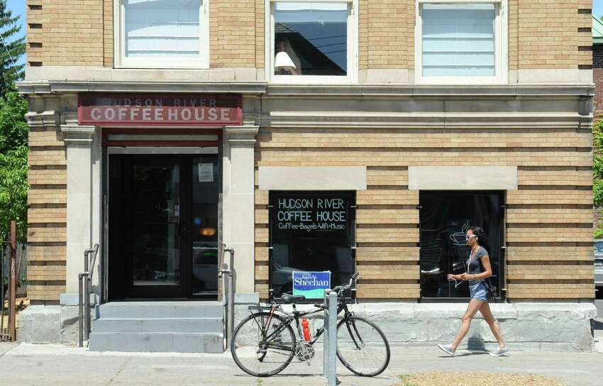 Exterior of the Hudson River Coffee House on Quail St. on Friday, June 21, 2013 in Albany, N.Y. (Lori Van Buren / Times Union)