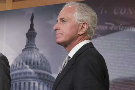 Sen. Bob Corker, R-Tenn., who has announced his retirement, has, with his criticism of President Trump, given public permission to question the president's fitness for office.