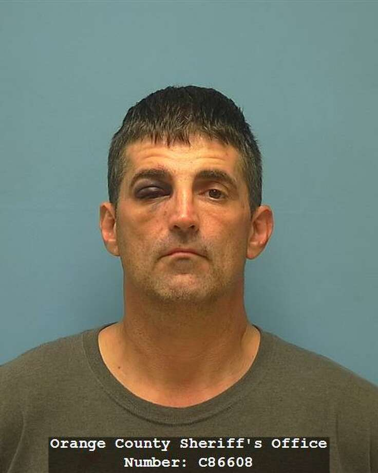 Marcus Wade Meehan, 46, has been arrested after leading police on a multiple county car chase on Tuesday, Oct. 10, 2017. Photo : Orange County Sheriff's Office.