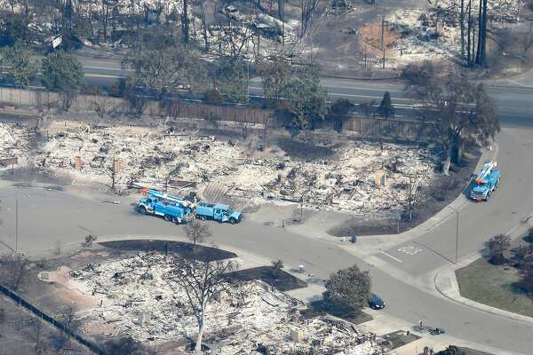 PG&E power lines explored as possible cause of Wine Country