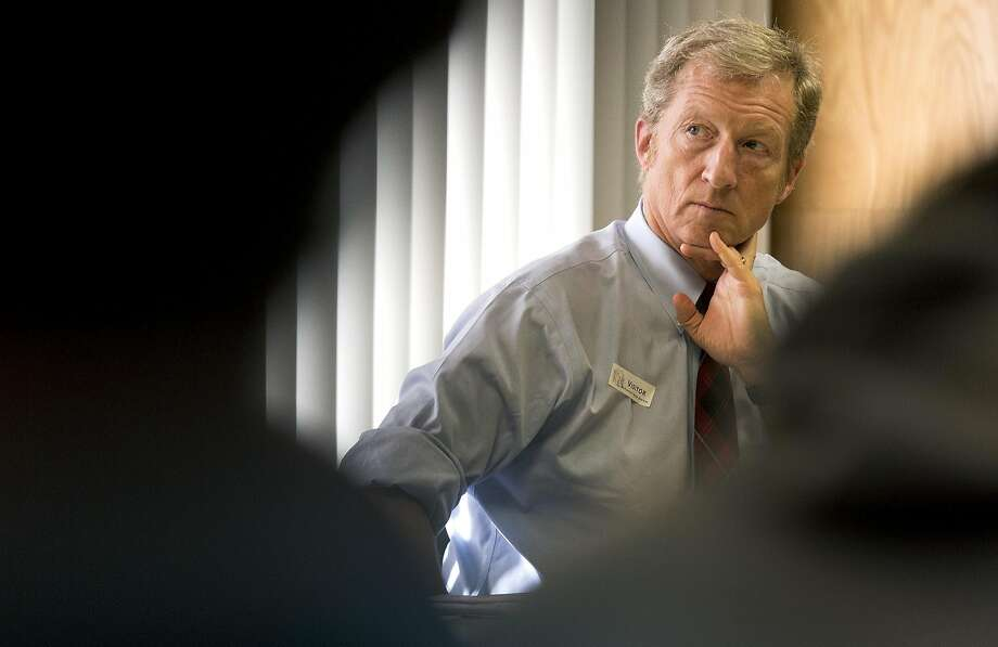 Tom Steyer has indicated that he's considering challenging Dianne Feinstein for her U.S. Senate seat, but hasn't made any official announce ments. Photo: Brian Van Der Brug, TNS