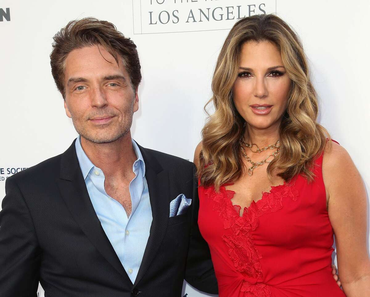 HOLLYWOOD, CA - APRIL 22: Singer Richard Marx (L) and wife TV host Daisy Fuentes attend the Humane Society of the United States' Annual To The Rescue! Los Angeles Benefit at Paramount Studios on April 22, 2017 in Hollywood, California. (Photo by David Livingston/Getty Images)