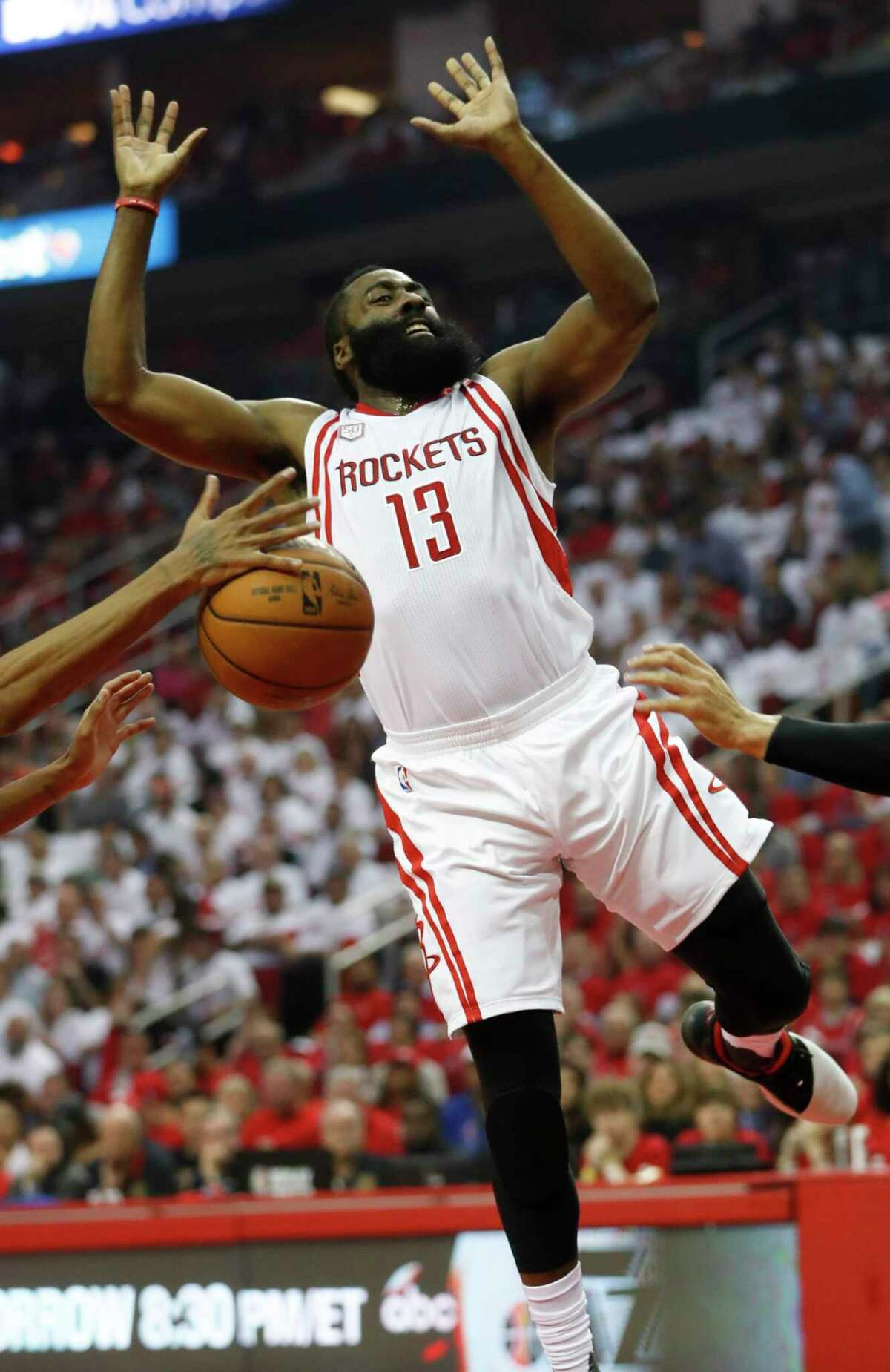 James Harden is an expert at drawing fouls, so the NBA's new way of calling certain fouls is of importance to him.