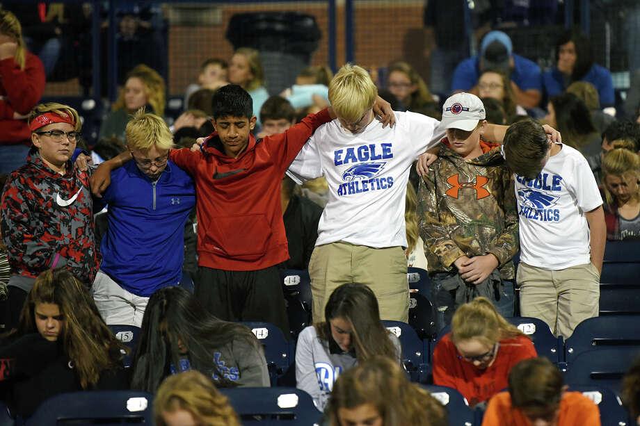 14th annual Fields of Faith event Oct. 11, 2017, at Grande Communications Stadium. James Durbin/Reporter-Telegram Photo: James Durbin