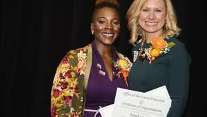 p.p1 {margin: 0.0px 0.0px 0.0px 0.0px; font: 10.0px 'Lucida Grande'}  Were you Seen at YWCA of the Greater Capital Region's 18th Annual Resourceful Women's Awards Luncheon at the Hilton Garden Inn in Troy on Oct. 11, 2017?