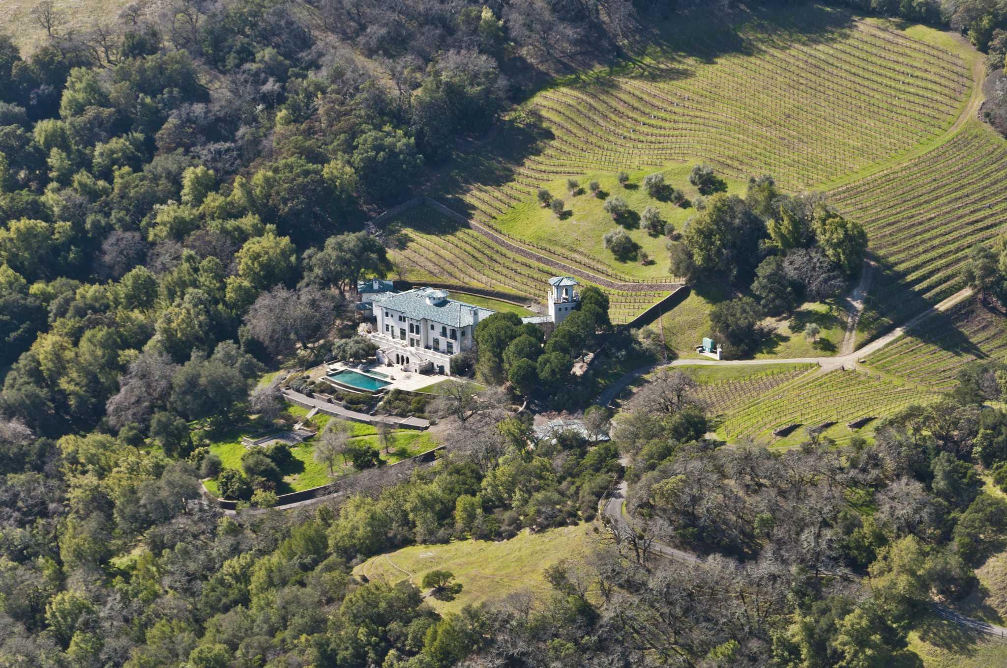 wine country fire reaches robin williams estate sfgate - Robin Williams Houses