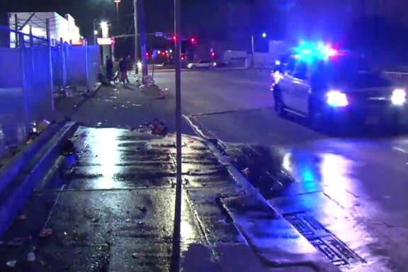 A man officials believe is homeless was stabbed late Wednesday near a Midtown encampment. (Metro Video)