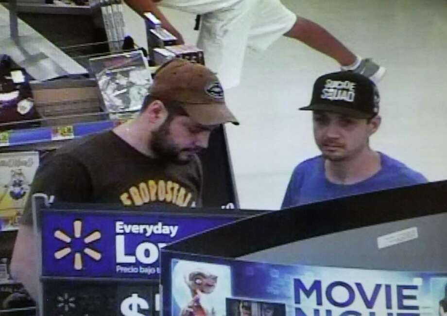 Anyone who can identify these men is asked to contact authorities at 956-795-2800, Laredo Crime Stoppers at 727-TIPS (8477) or text a tip to 847411 and type keyword: Laredo. Photo: Laredo Police Department