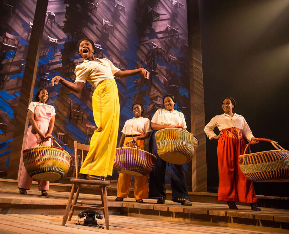 "A scene from the Broadway production of ""The Color Purple: The Musical."" (Publicity photo by Matthew Murphy/The Color Purple.)"