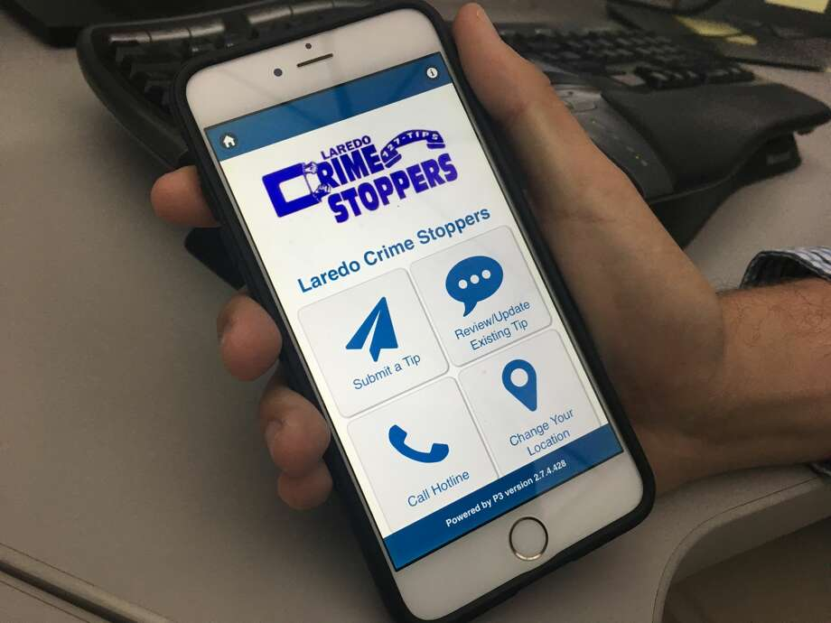 """P3 Tips"" enables Laredo residents to quickly communicate any crime information to authorities. Keep clicking through to get a step-by-step tutorial on how to submit a tip with the ""P3 Tips"" app. Photo: Jordan Ray/Laredo Morning Times"