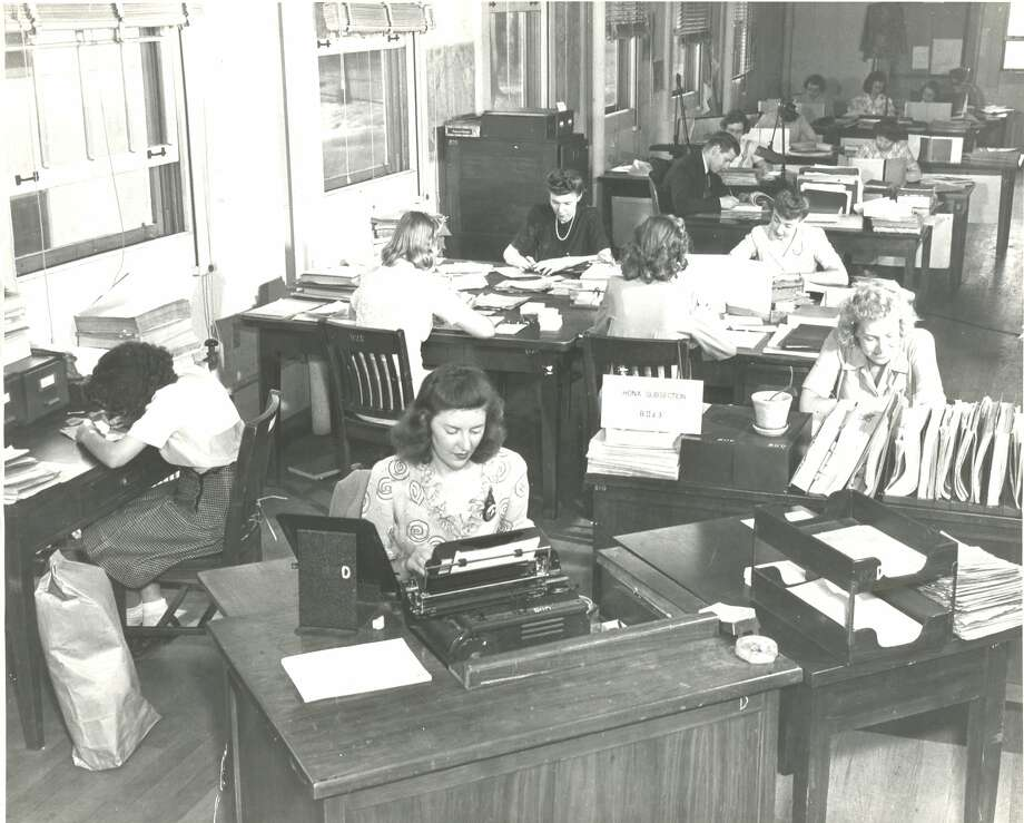 """""""Code girls"""" helped break enemy codes during WWII. Photo: National Security Agency"""