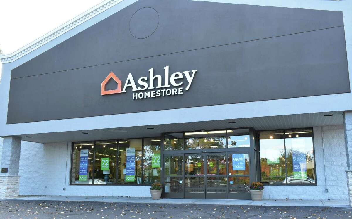 The new Ashley HomeStore at 51 Richards Ave. in Norwalk, Conn., which plans a grand opening celebration in October 2017.