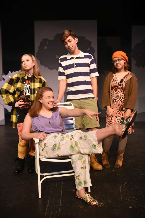 "Scenes from Pickwicks new show ""Project 398.2: In a Land Far Away,"" photographed Sept. 28, 2017 at Midland Community Theater. James Durbin/Reporter-Telegram Photo: James Durbin"