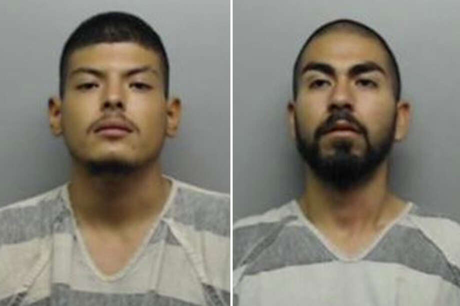 Dennis Leroy Garcia, 19, and Roberto Jesus Borrego, 19, were each charged with robbery. Photo: Webb County Sheriff's Office
