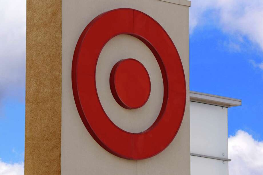 The Target logo seen on a store in Upper Saint Clair, Pa. Target is jumping into voice-activated shopping as it deepens its relationship with Google, offering thousands of items found in the store. Photo: Gene J. Puskar /Associated Press / Copyright 2017 The Associated Press. All rights reserved.