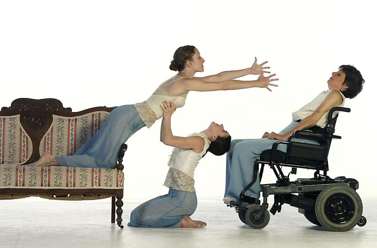 AXIS Dance Company Sat., Nov. 3 at 8 p.m. Comprised of dancers with and without disabilities, Oaklands contemporary dance company explores physically integrated dance, locally, nationally and internationally. In its Friend Center debut, the company performs Margaret Jenkins Waypoint (2006) and a preview of a new work by Joe Goode. The performance, presented by the JCCSF Art & Healing Program, is followed by a panel discussion. Ran on: 11-03-2007 The Axis Dance Company, featuring dancers with and without disabilities, performs at the Jewish Community Center.