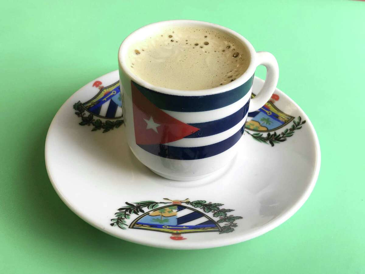 Chef and owner Danelys Wong opened Guajira Cuban Restaurant after immigrating to the United States. Cafe Cubano is a small but powerful dose of coffee that is served in a very small cup.