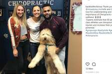 "Back to Life Chiropractic  - 1370 Pantheon Way    backtolifechirosa: ""Thank you @missalyssa_michelle and @balapat (Harvey too) for understanding and appreciating the importance of Chiropractic care for health and wellness!"""