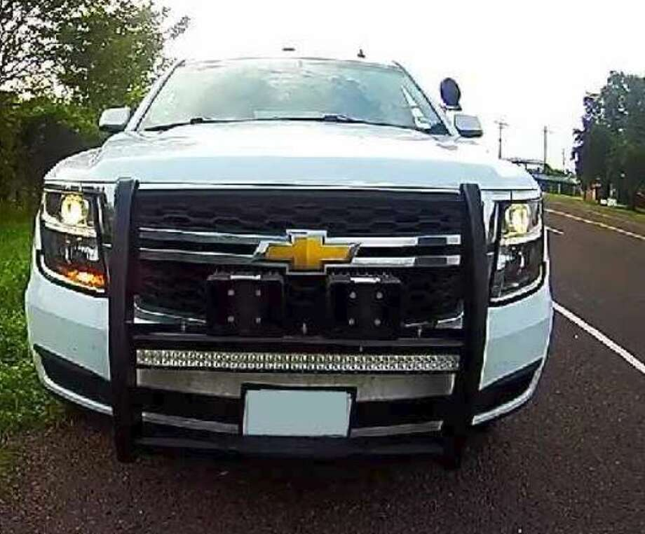 Jefferson County Sheriff's Office: If you were stopped by this vehicle, call the department at (409) 835-8411.