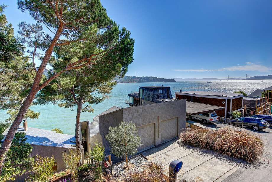 2322 Mar East in Tiburon is a two-bedroom waterfront home available for $2.995 million.  Photo: Jason Wells Photography
