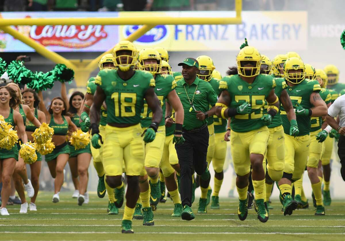 11. Oregon Nike University Oregon has some great looks, like this throwback-inspired effort they wore to open the season.