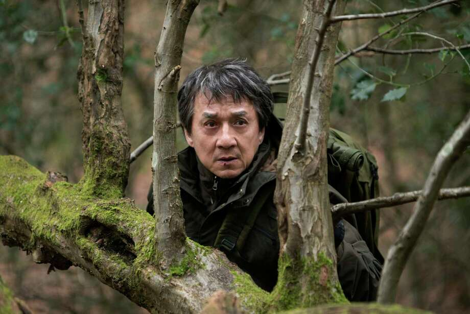 """Jackie Chan stars as a father bent on revenge in """"The Foreigner."""" Photo: Christopher Raphael, HONS / Motion Picture Artwork © 2017 STX Financing, LLC. All Rights Reserved."""