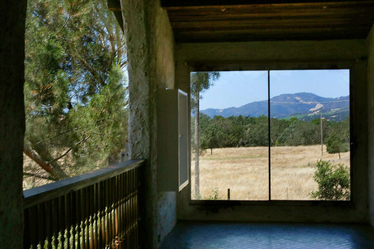 The back patio in the historic home of M.F.K. Fisher on Friday, June 22, 2017, at the Bouverie Preserve in Glen Ellen, Calif.